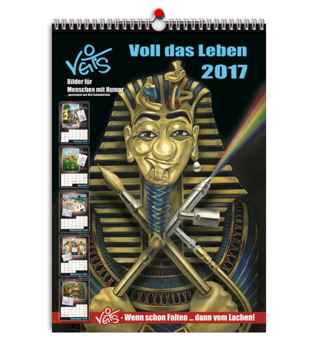 VeitS Cartoon Kalender 2017