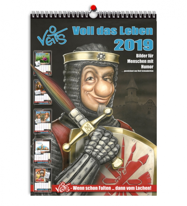 Veit`S Karikaturen/Cartoon - Kalender 2019