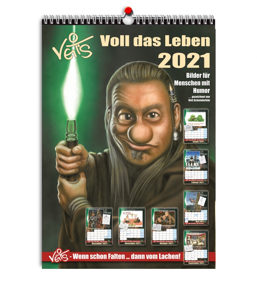 VeitS Cartoon Kalender 2021 Titel